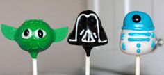 Star Wars Cake Pops by sweetpopsshop on Etsy