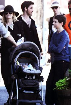 Emma, Hook, Henry and baby Neal.