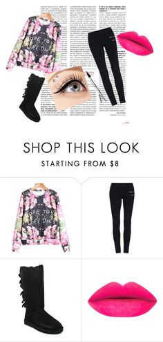 """""""Untitled #37"""" by natacharizk ❤ liked on Polyvore featuring UGG Australia and Luminess Air"""