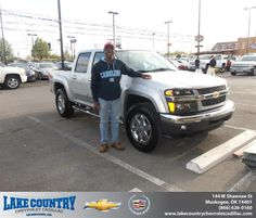 #HappyAnniversary to Dale Stephenson on your 2012 #Chevrolet #Colorado from Jeremy Watkins  at Lake Country Chevrolet Cadillac!