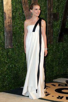 Natalie Portman Oscar's Dress 2013