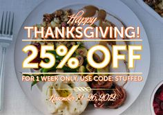 Thanksgiving Sale. 25% off with the code STUFFED. % of proceeds benefit Hurricane Sandy victims.