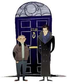Sherlock n John by Jac-l #artwork #popculture #sherlock #bbc
