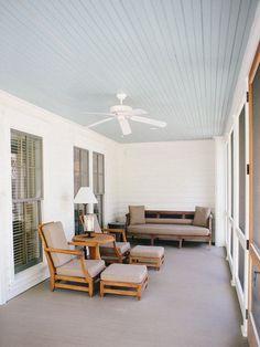 Haint Blue Porch Ceilings: SW 6471 Hazel SW 6505 Atmospheric SW .