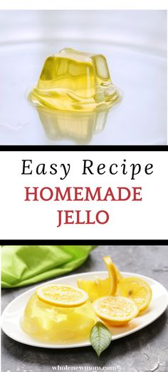 How to Make your own DIY Natural Jello with this very easy recipe.Healthy and sugar free this jello is great fora. low carb, paleo or whole 30 diet. There is even a substitution so this jello can be vegan. Yummy Healthy Snacks, Healthy Sugar, Easy Snacks, Homemade Jello, Beef Gelatin, Natural Food Coloring, 30 Diet, Paleo, Keto