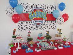 Bolo Do Paw Patrol, Paw Patrol Masks, Paw Patrol Birthday Cake, Paw Patrol Party, 3rd Birthday Parties, Boy Birthday, First Birthdays, Lucca, Facebook