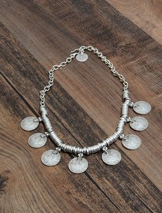 Great Jewelry Styles Turkish Silver Coin Layering Necklace