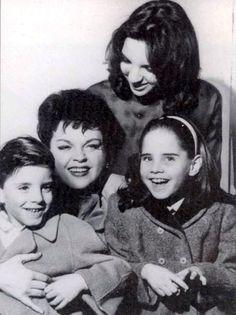Beautiful family of Judy Garland  Joey, Judy Liza, Lorna