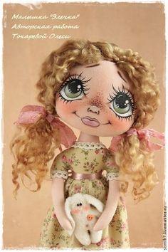 Creative Wall Painting, Fabric Toys, Sewing Dolls, Doll Tutorial, Pretty Dolls, Doll Hair, Soft Dolls, Felt Toys, Doll Crafts