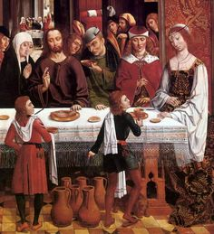 """""""Marriage at Cana"""" by the Master of the Catholic Kings, c. 1495-97"""