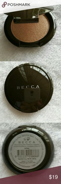 BECCA Shimmering Skin Perfector OPAL TRV BECCA Shimmering Skin Perfector in OPAL. Beautiful standout highlight. A little goes a long way. Travel Size 0.08oz. New unused with no box. Most popular Becca highlighter. Please let me know if you have any questions. 30% discount when using bundle feature. No trades! BECCA Makeup Luminizer
