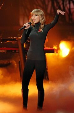 Taylor performing The Last Time at X Factor UK