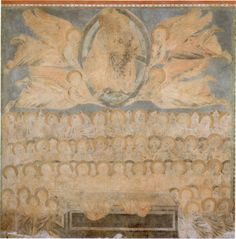 Cimabue, l'Assunzione di Maria, abside della Chiesa superiore della Basilica di S.Francesco in Assisi