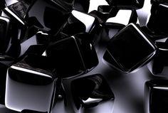 艶のある黒いキューブの壁紙 | 壁紙キングダム PC・デスクトップ版