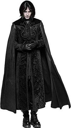 Darkness Gothic D//ceptions Black Vinyl Adult Costume