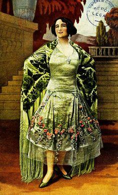 Les Modes (Paris) January 1926 Robe de Style par Boue Soeurs