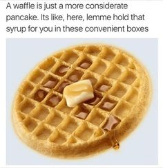 Get your laugh on to these 20 Funny Waffle Memes! Really Funny Memes, Stupid Funny Memes, Funny Pins, Funny Relatable Memes, Haha Funny, Funny Cute, Hilarious, Funny Stuff, Random Stuff