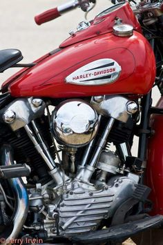Classic Harley Davidson, Harley Davidson Chopper, Harley Davidson Motorcycles, Cool Motorcycles, Vintage Motorcycles, Knuckle Head, Custom Bobber, Hot Bikes, Vintage Bikes