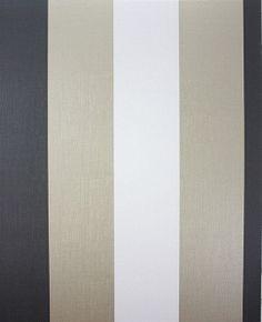 Dulwich Stripe Vinyl W6334-04 Osborne and Little Wallpaper