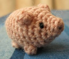 Need some luck? Then make this little lucky pig!