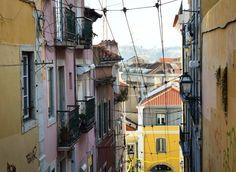Shabby & chic & highly photogenic that's Lisbon I love.    #travel