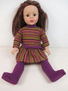 "Madame Alexander 18"" Doll Soft Brown Hair Brown Eyes Fair Skin 2007 #DollswithClothingAccessories"