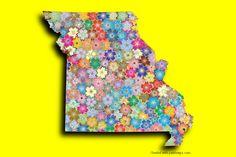 Map Maker, Photo Maps, Missouri, Symbols, Pictures, Art, Maps, Photos, Art Background
