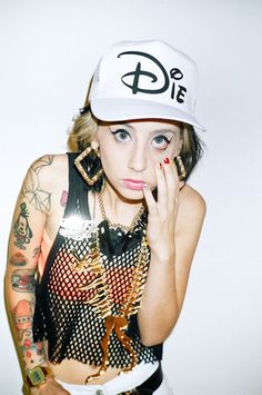 kreayshawn..I can't stand her but I want the hat