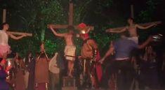 """BLOG  """"O ETERNO APRENDIZ"""" : VÍDEO - HOMEM AGRIDE ATOR PARA SALVAR JESUS DURANT..."""