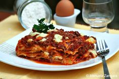 Baked+Lasagne+-+my+family's+recipe+for+one+if+the+most+iconic+Italian+dishes.