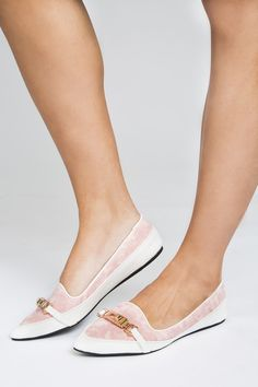 Belmont Loafers #accessories #belmont #classic #classy #gold #loafer #loafers #pink #preppy #shoes #sophisticated #triple-crown #white #women #womens