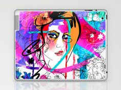 Passion Laptop & iPad Skin by Holly Sharpe - $25.00