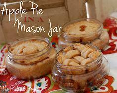 Apple Pie in a Mason Jar