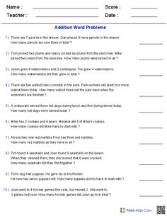 Story Problem Worksheet - Word Problems Worksheets Dynamically Created Word Problems Math Word Problem Worksheets Grade Word Problem Worksheets Printable Learning Word P. Fraction Word Problems, Math Word Problems, Addition Worksheets, Math Worksheets, Decimals Worksheets, Addition Words, Math Words, Multiplication And Division, 4th Grade Math