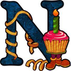 Birthday N (Ducky's Design)