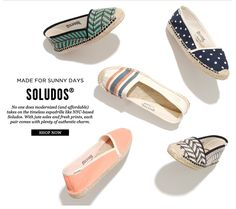 The shoe youll want to stock up on - Soludos for Madewell