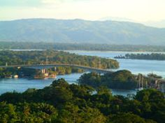 Guatemala - the Rio Dulce, for 6 months I lived a boatride from the bridge down the river.
