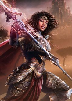 Tagged with art, fantasy, dnd, dungeons and dragons, fantasy art; Fantasy art dump - D&D Character Inspiration Black Characters, Fantasy Characters, Female Characters, Art Black Love, Black Girl Art, Character Portraits, Character Art, Dungeons And Dragons, Arte Black