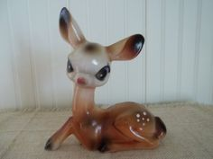 Sweet Bambi ViNtAgE Figurine by blissfulfinds on Etsy, $8.00