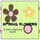It isn't too early yet to start planning your Spring Preschool Teaching Unit. Teach the names of 12 popular spring flowers with these 3-part matchi...