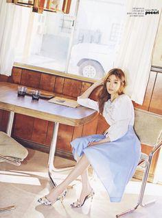 소녀시대 티파니, 봄 분위기 나는 인스타일 화보 - 팔만대잡담