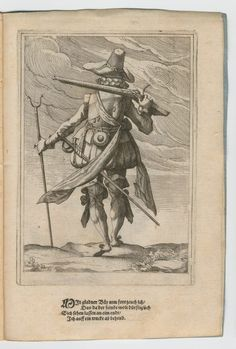 German soldier, early 17th century.
