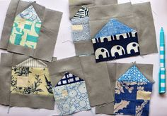 Making Delft from fabric