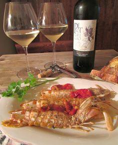 Briciole di Sapori           : Canocchie (o cicale) in guazzetto