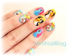 Mini Nail Blog: Nail Art Video - Rio ☆