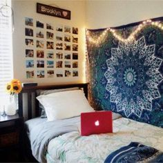 cute dorm room decorating ideas and dorm room hacks #dormroomideas #gettingorganized #goals