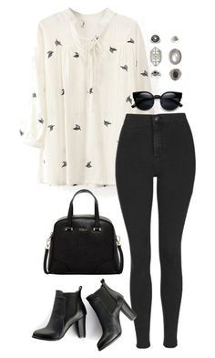 A fashion look from February 2016 featuring white blouse, topshop jeans and short boots. Browse and shop related looks. Fashion Mode, Look Fashion, Daily Fashion, Korean Fashion, Autumn Fashion, Fashion Trends, Classy Fashion, Street Fashion, Office Outfits