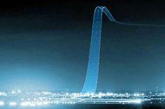 Long exposure shot of an airplane taking off, via ScienceDump