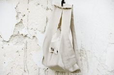 Linen Shopping Bag Small by karmologyclinic on Etsy, $21.50
