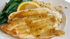 Fillets of Sole Meunière . Broiled Sole With Mustard And Thyme . Broiled Filet of Sole with Herbed Butter . Filet of Sole Recipes . Filet of sole is a simple Clean Recipes, Fish Recipes, Seafood Recipes, Healthy Dinner Recipes, Cooking Recipes, Healthy Meals, Yummy Recipes, Yummy Food, Honey